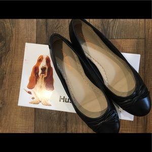 NWOT Hush Puppies Heather Bow Ballet Shoes